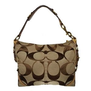 Coach Carly Signature Slim Shoulder Bag